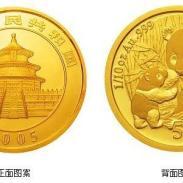 熊猫金银纪念币图片