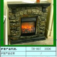 TH00738D6仿石头壁炉图片