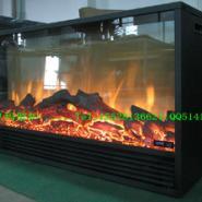 伏羲电壁炉欧壁火欧式壁炉设计定制图片