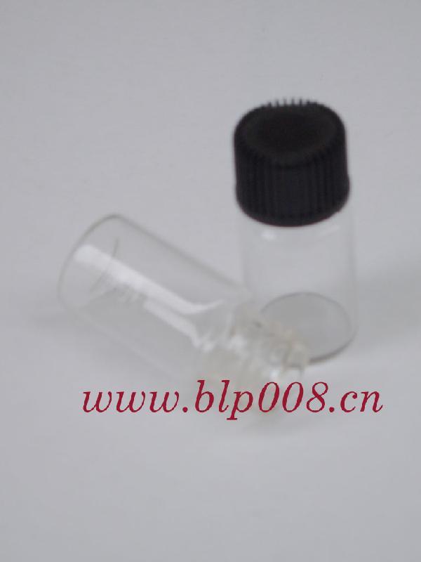 3ML塑料盖玻璃瓶图片/3ML塑料盖玻璃瓶样板图 (1)