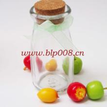 供应广州装饰奶瓶工艺玻璃瓶食品包装瓶子批发