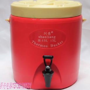 石家庄现磨豆浆奶茶保温桶13L图片
