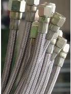 新会铁氟龙钢丝编织管批发图片