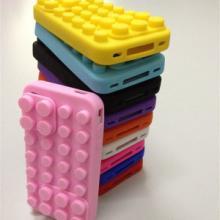 供应硅胶积木手机套