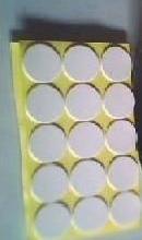 供应广州白色EVA防滑圆垫,广州背胶泡沫圆胶垫,广州白色EVA垫
