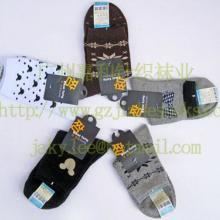袜子加工厂全棉袜子女式中筒图片