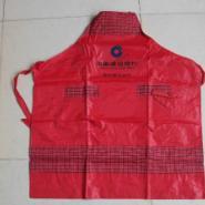 红色雪克布围裙图片