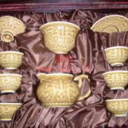 活瓷龙头雕功夫茶具供货商图片