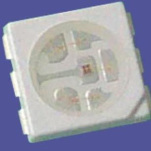 贴片5050三芯红外线LED图片