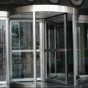 酒店大堂自动旋转门图片