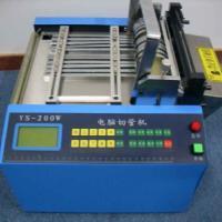 供硅胶管切割机/热缩管剪管机/塑料管裁切机工厂直销硅胶管切割机热