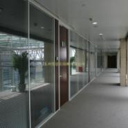 无锡玻璃高隔断办公玻璃隔办公玻璃图片