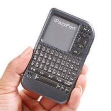 供应iPazzPort迷你无线键盘触摸/遥控器HTPC手持式批发