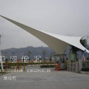大门入口空间拉膜结构广场张拉膜图片
