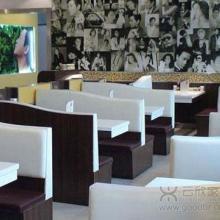 供应茶餐厅卡座沙发厂