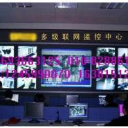 内蒙古煤窑监控电视墙拼接墙图片