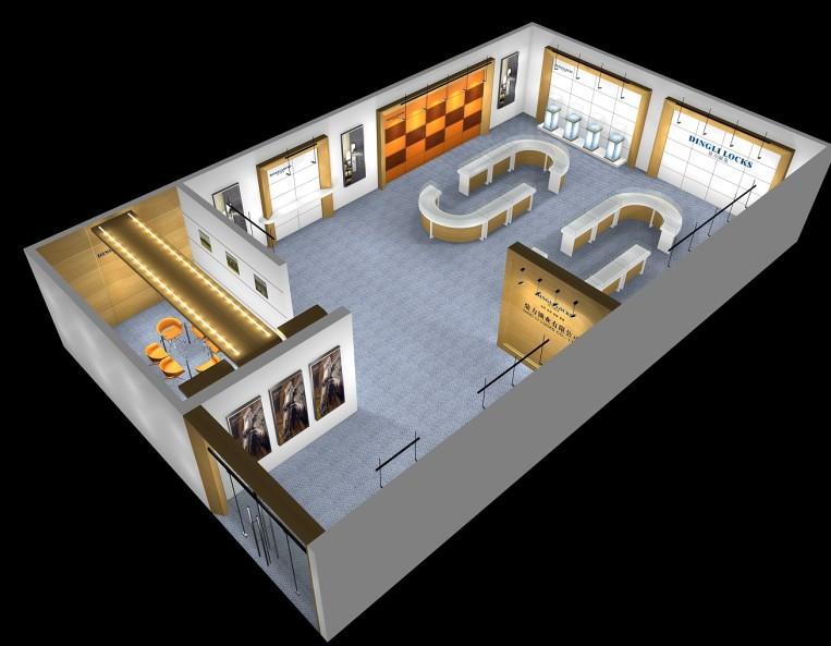 温州机械展 温州机床展 温州塑机展 温州展柜设计 温州展厅施工图片