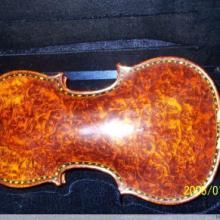 供应高档纯手工全进口欧料龙眼枫小提琴批发
