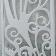 7E雕花板/镂空板/背景墙隔断烤漆图片