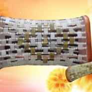 玉石手工编织枕钢丝枕锗玉保健枕颈图片