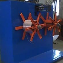 塑料异型材带收卷机