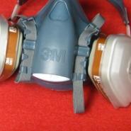 3M防毒气全面罩半面罩呼吸防护图片