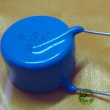 供应高压陶瓷电容10KV221K蓝色直插高压瓷片电容空气净化器X光机专用图片