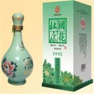 杜康国花青瓷浓香型白酒图片