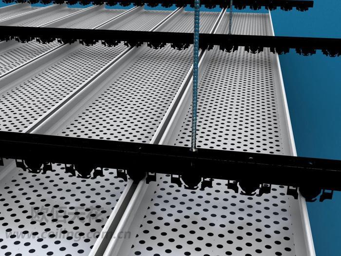 青海加油站铝条扣板供应商 加强版高边铝条扣板价格 中石化吊顶