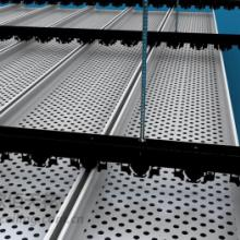 青海加油站铝条扣板供应商加强版高边铝条扣板价格中石化吊顶批发