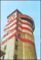 供应大厦外壁刷涂料工程图片