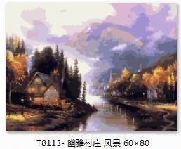 数字油画风景系列图片