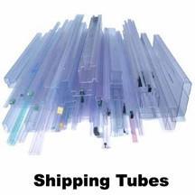 供应条形包装管,环保吸塑管,IC周转管,透明包装料管图片