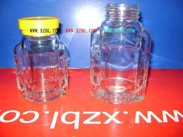 供应大小别克蜂蜜礼品盒包装玻璃瓶供应