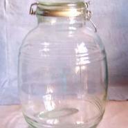 3斤酒坛玻璃坛子生产厂家出厂报价图片