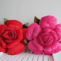 玫瑰花抱枕
