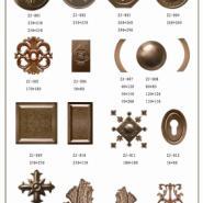 河南铜门厂供应铜花铜板图片