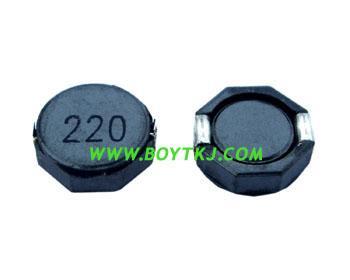 供应贴片功率电感8D43-221M 绕线电感