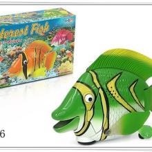 供应灯光音乐电动动物玩具电动鱼批发