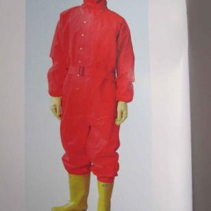 抢险救援穿着简易化学防护服图片