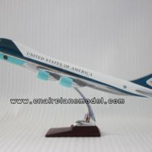 供应航空模型B747-200空军一号47CM批发