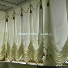 供应酒店餐厅窗帘餐厅布草台布台裙椅裙高档纱帘
