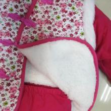 碎花拼接女童唐装套装新年装儿童演出服唐装批发批发