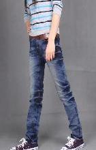 供应女款牛仔裤批发时尚牛仔裤