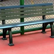 网球场塑料树脂休息椅美国进口图片