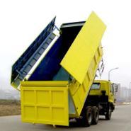 厂家直供内蒙古自卸车加盖密闭改装图片