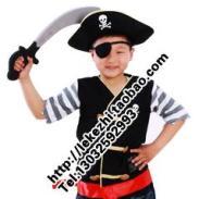 利川市乐可智儿童海盗角色表演服装图片