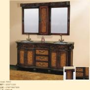 2011最新款橡木浴室佛山浴室柜图片