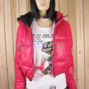最好看最便宜的秋冬女装棉服批发新图片