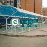 铁艺钢结构雨棚专用塑料建材阳光板